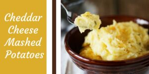 Cheddar Cheese Mashed Potatoes-min