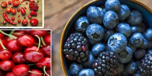 Red and Blue Vegetables Fruits-min